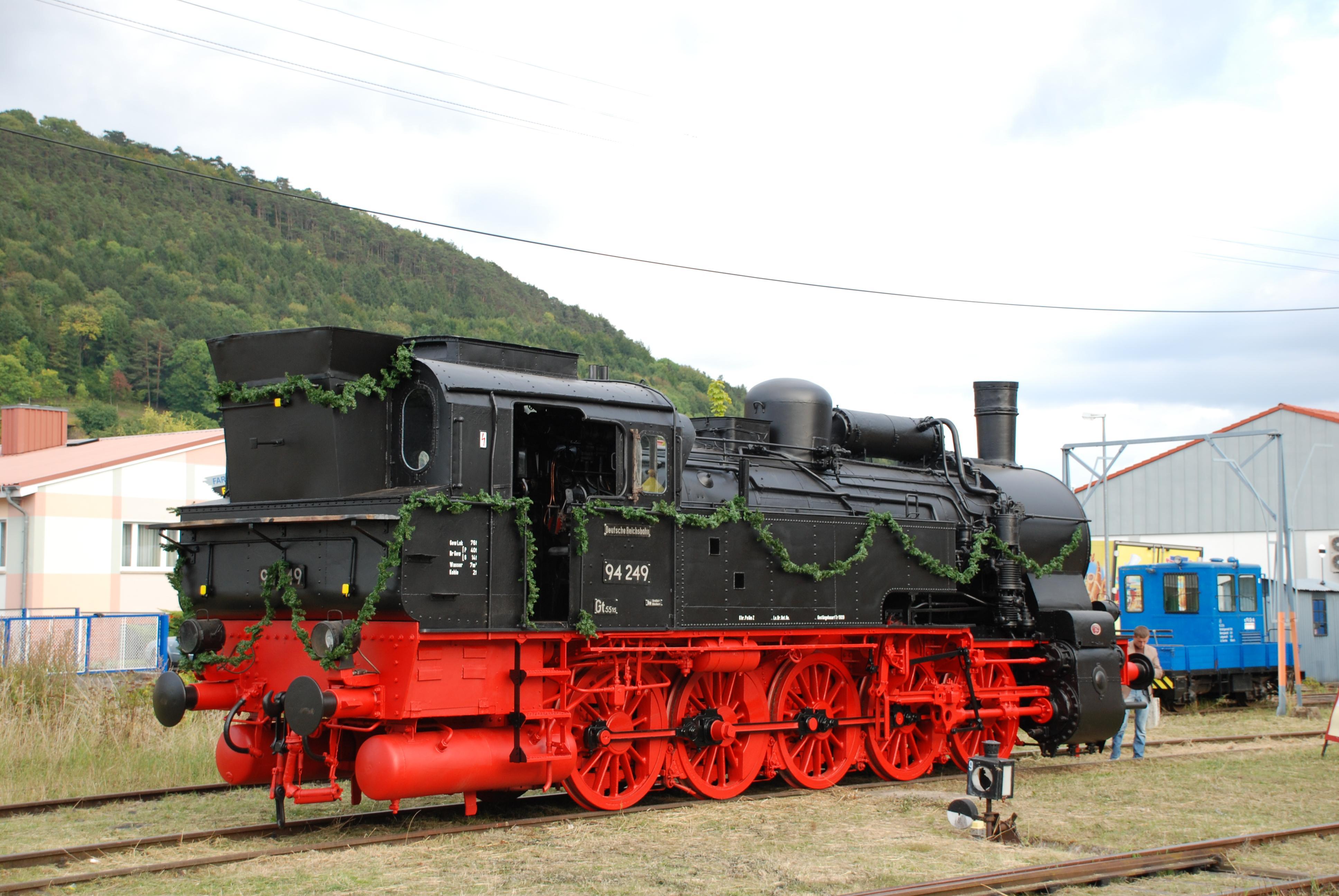 Dampflok 94 249