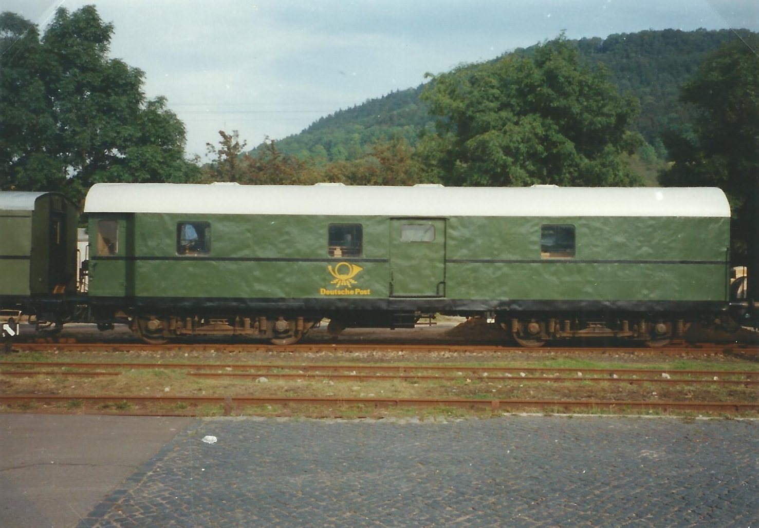 Bahnpostwagen Post 4 – cl/15